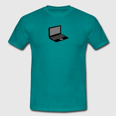 laptop notebook tablet PC mobil skärm T-shirts - T-shirt herr