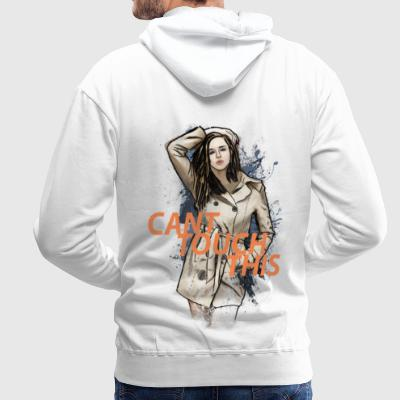 CANT TOUCH THIS Pullover & Hoodies - Männer Premium Hoodie