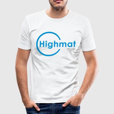 Highmatmusik Logo Shirt *SlimFit* - Männer Slim Fit T-Shirt