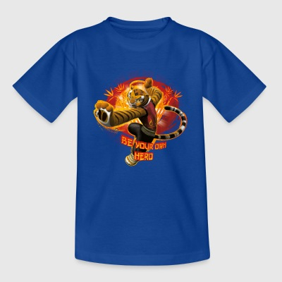 Kung Fu Panda 3 Tigress Be Your Own Hero Teenager  - Teenage T-shirt