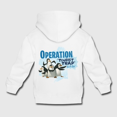 Madagascar Pinguine Operation Tourist Trap Kinder  - Kinder Premium Hoodie