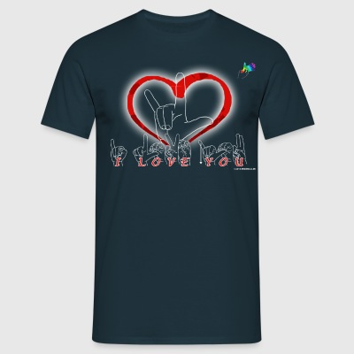 I love you LSF - T-shirt Homme
