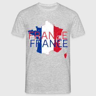France Love - Männer T-Shirt