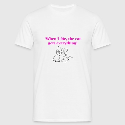 Cat gets Everything - Men's T-Shirt