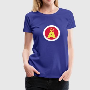 Flaming A Logo T-Shirts - Women's Premium T-Shirt