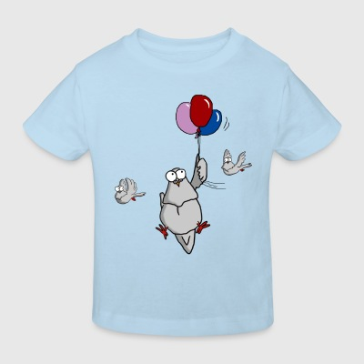 FW Kindershirt Ballons - Kinder Bio-T-Shirt