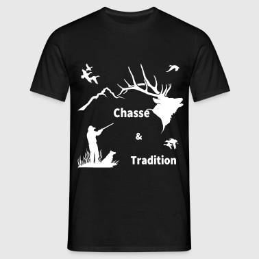 chasse - T-shirt Homme