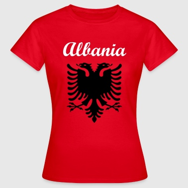 Albania Fan Shirt - Frauen T-Shirt