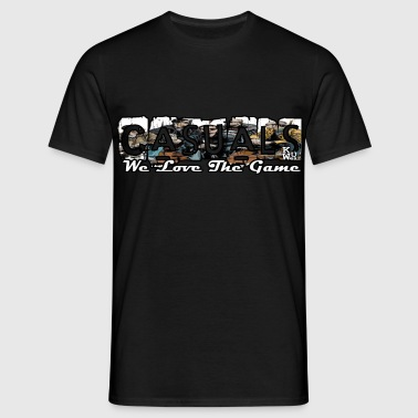 Casuals We Love The Game - Mannen T-shirt