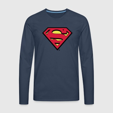 Superman Logo Tee shirt manches longues Homme - T-shirt manches longues Premium Homme