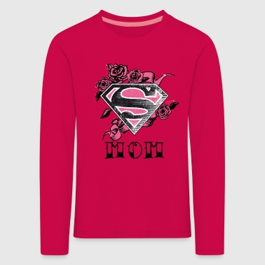Superman S-Shield Mom Tee shirt manches longues Fe - T-shirt manches longues Premium Enfant
