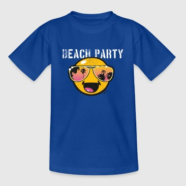 SmileyWorld 'Beachparty' teenager t-shirt - T-skjorte for tenåringer