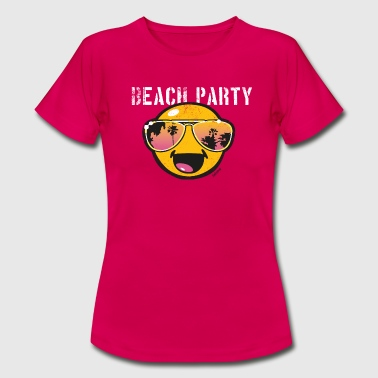 Smiley World Beachparty Frauen T-Shirt - Frauen T-Shirt