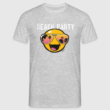 SmileyWorld 'Beachparty' Homme Tee Shirt - T-shirt Homme
