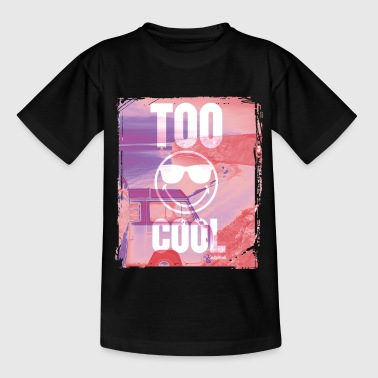 SmileyWorld 'Too Cool' teenager t-shirt - Camiseta adolescente