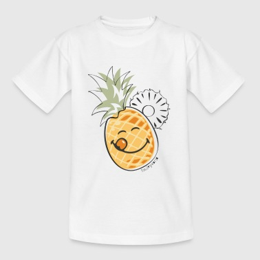 SmileyWorld 'Juicy Pineapple' teenager t-shirt - T-skjorte for tenåringer
