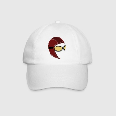 White Aviator Cap  - Baseball Cap