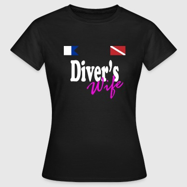 Divers Wife - Women's T-Shirt