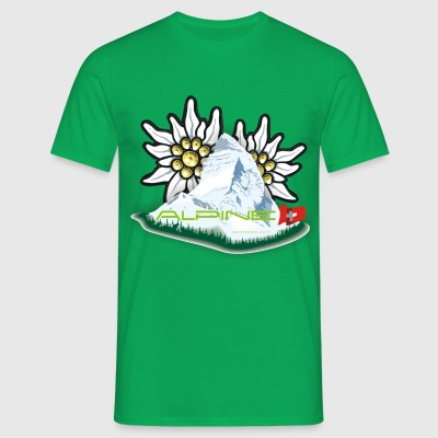 Alpine - Greenzing - Männer T-Shirt