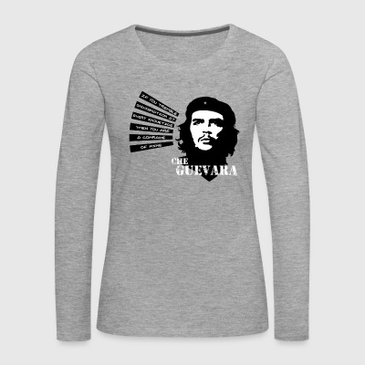 Che Guevara If you tremble with Indignation Frau - Frauen Premium Langarmshirt