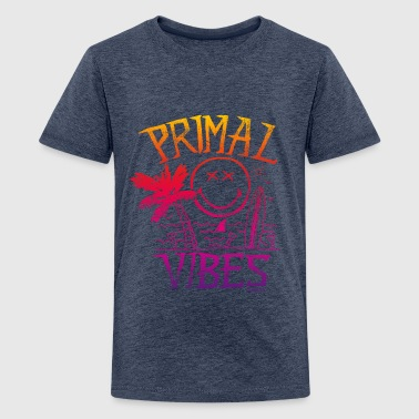 SmileyWorld 'Primal Vibes' teenager t-shirt - Premium T-skjorte for tenåringer