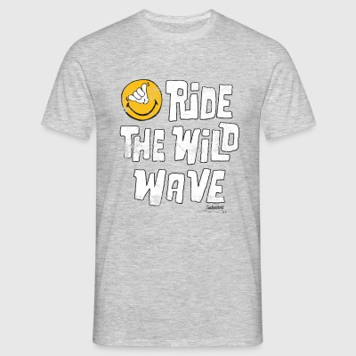 SmileyWorld 'Ride the wild wave' men t-shirt - Maglietta da uomo