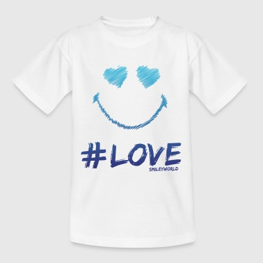 SmileyWorld '#Love' teenager t-shirt - Teenage T-shirt