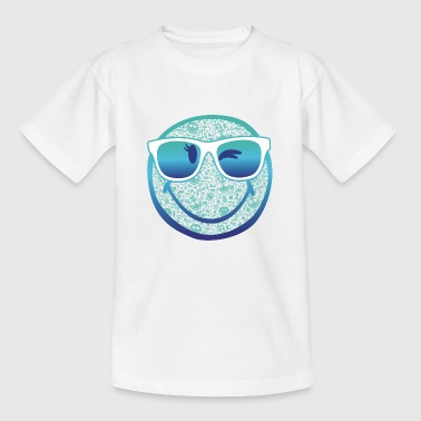 SmileyWorld 'Summer Sunglasses' teenager t-shirt - Kids' T-Shirt