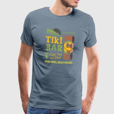 SmileyWorld 'Tiki Bar' men t-shirt - Men's Premium T-Shirt