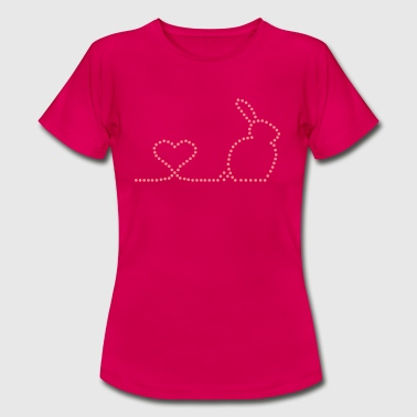 Rabbit Love - Frauen T-Shirt