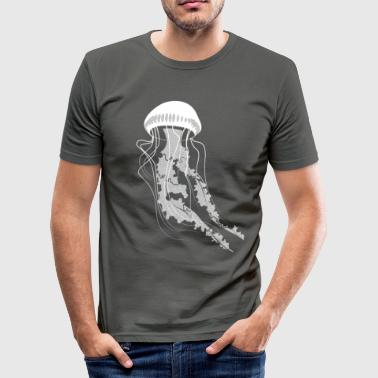 Jellyfish - Men's Slim Fit T-Shirt