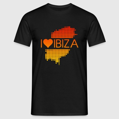 I Love Ibiza Mens - Men's T-Shirt