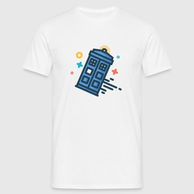 Tardis Doctor Who - T-shirt Homme
