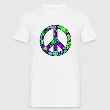 Peace Symbol Mens - Men's T-Shirt