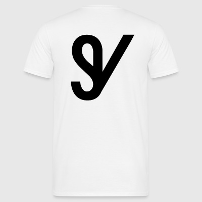 T-shirt SV wit 1 - Mannen T-shirt