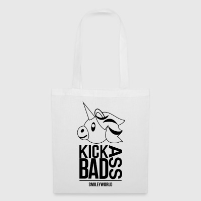 SmileyWorld Kick Bad Ass - Bolsa de tela