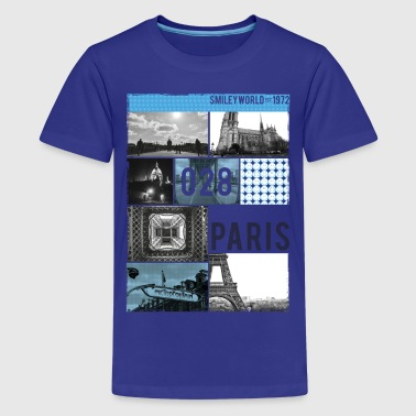 Smileyworld '028 Paris' - Teenager Premium T-Shirt
