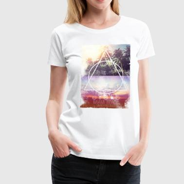 Smileyworld 'Miami Beach' - Camiseta premium mujer