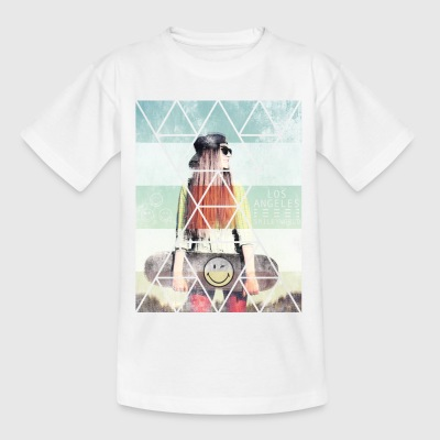 Smileyworld 'Los Angeles Skater' - Teenager T-Shirt