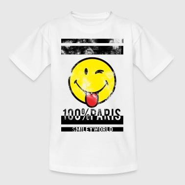 Smileyworld '100% Paris' - Teenager T-Shirt
