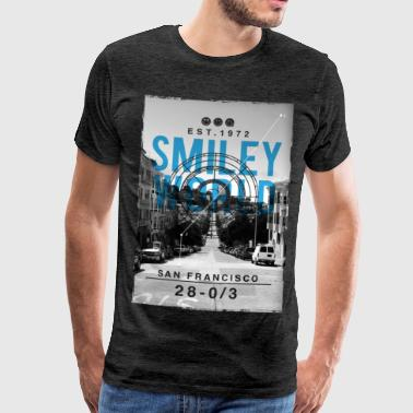 Smileyworld 'San Francisco' - Männer Premium T-Shirt