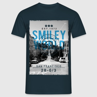 Smileyworld 'San Francisco' - Men's T-Shirt