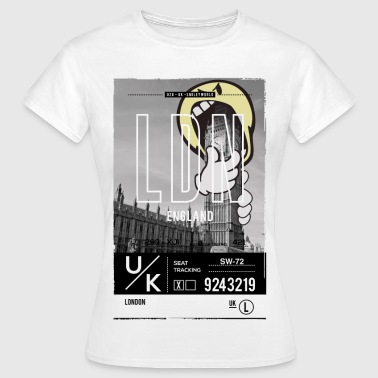 Smileyworld 'London Big Ben' - Frauen T-Shirt