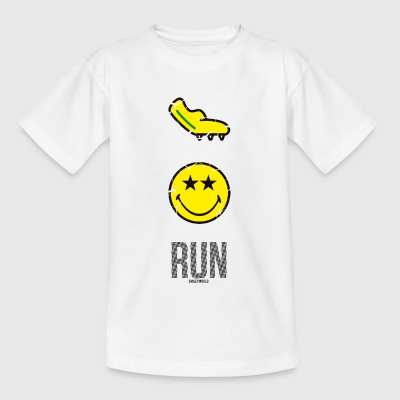 SmileyWorld RUN Fast - Camiseta adolescente