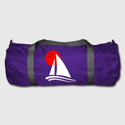 Sailing Black  - Duffel Bag