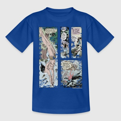 Tarzan and Stanly Comic - Teenage T-shirt