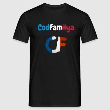 T shirt codfamilya France - T-shirt Homme