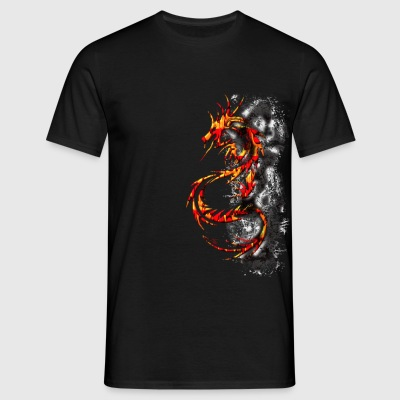 Dragon Fire - T-shirt Homme