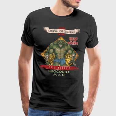 Suicide Squad The Killer Crocodile Man - T-shirt Premium Homme