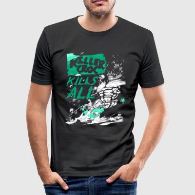 Suicide Squad Killer Croc Kills All - Slim Fit T-shirt herr